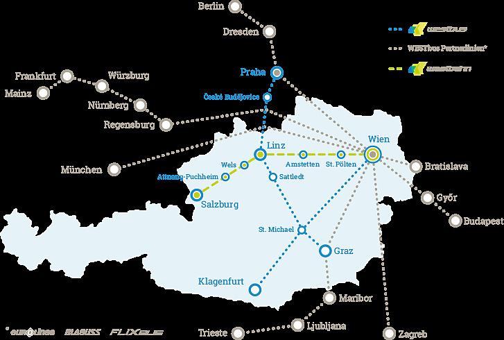Westbahn fahrplan