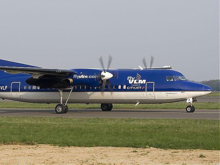 Aus für Fluglinie VLM - Insolvenz beantragt - Flugbetrieb eingestellt