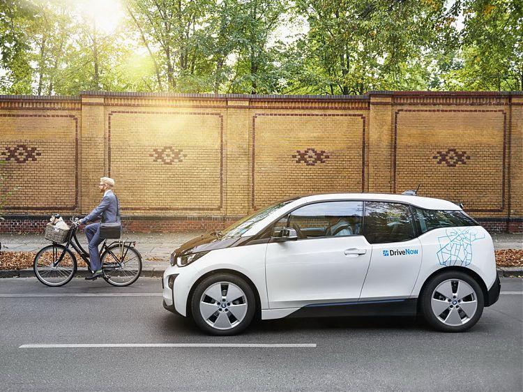 Carsharing mit dem BMW i3 in Wien