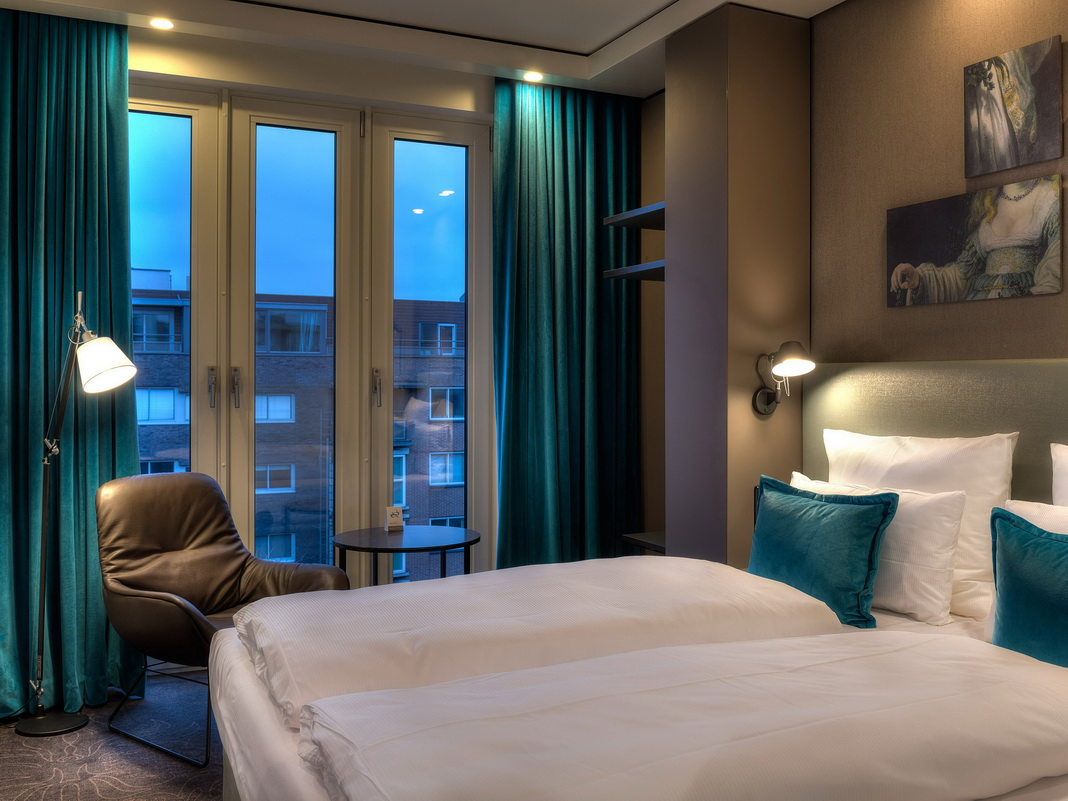 Motel one er ffnet das zweite haus in amsterdam news for Zimmer motel one