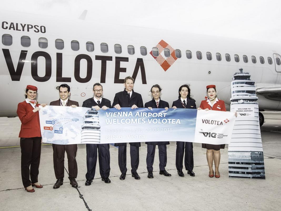 Drittes Ziel Ab Wien Volotea Feiert Den Erstflug Nach Bilbao News