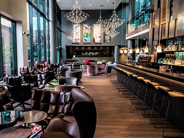 One Lounge im Motel One Wien-Westbahnhof (c) Motel One