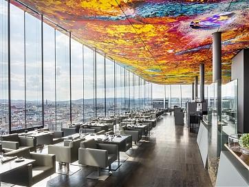 "Fine-Dining-Restaurant ""DAS LOFT"" im SO/ Vienna - Foto: Abaca Corporate / Didier Delmas"