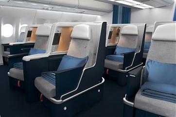 Neue Business Class im Airbus A330 - Foto: Air France
