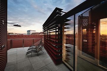 Neue Rooftop-Sauna im Hotel Weitzer in Graz - Foto: Weitzer Hotels