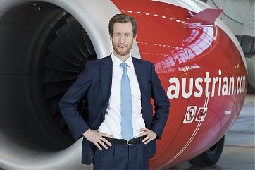 CEO Alexis von Hoensbroech - Foto: Austrian Airlines / Michèle Pauty