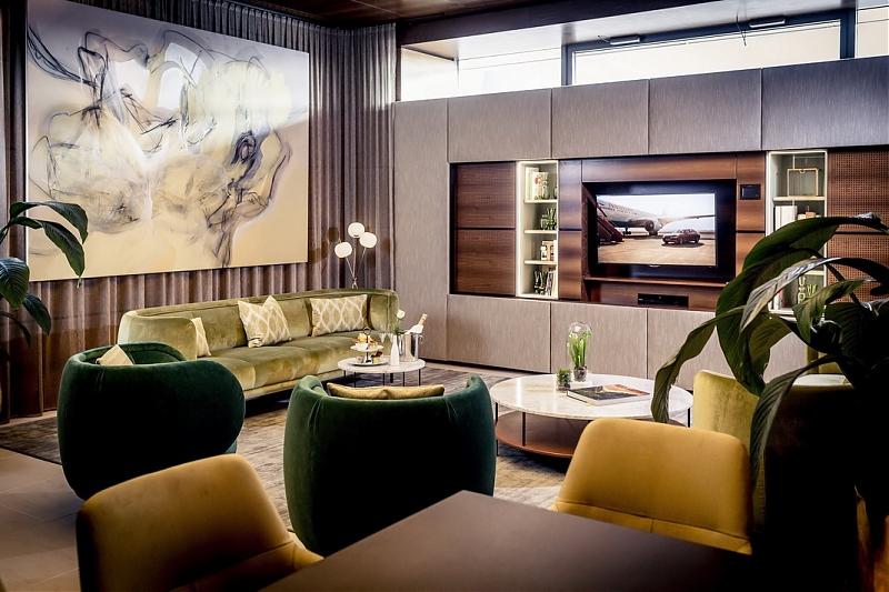 Flughafen Wien: Neu gestaltete Salons im VIP Terminal » news | tma ...